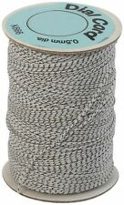 100 meters DIAL CORD - 0.5 mm - BEST QUALITY NON STRETCH - WHITE & BLACK FLECK
