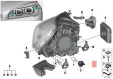Genuine BMW 59C1 59C3 E38 E46 E53 E60 E60N E61 Bulb Silver OEM 63217160897