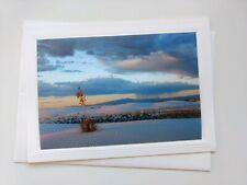 3 Variety Coastal theme Blank Note Cards w/ Envelopes 🐚🙏 Photo Greeting Cards