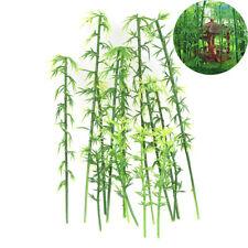 20x Plastik Miniatur Modell Baum Landschaft Bambus Baum Sand Tisch ModelY BOD