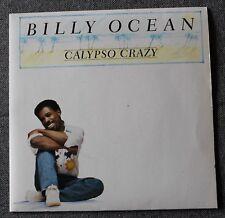 45 tours - Billy Ocean -  calypso crazy - let's get back together