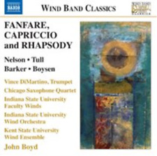 Fanfare, Capriccio and Rhapsody  CD NUEVO