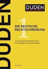 Duden - Die deutsche Rechtschreibung / Duden - Deutsche Sprache Bd.1 von Dudenredaktion (2017, Gebundene Ausgabe)
