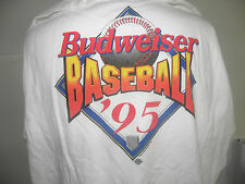 MLB -BUDWEISER 1995 BASEBALL OPENING DAY T-SHIRT SIZE XL NWOT