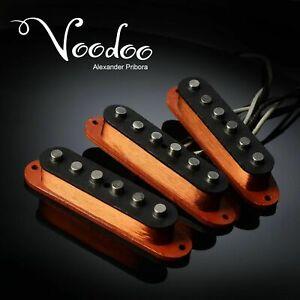 Set pickup Stratocaster per pickup Fender Stratocaster Voodoo Handwound...