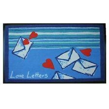 TOP Teppich Matte *LOVE LETTERS* abwaschbar 60x90 cm