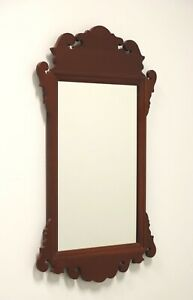 Mahogany Chippendale Style Small Mirror