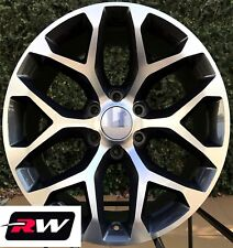 "20"" inch 20 x9"" Wheels for Chevy Avalanche Gunmetal Machined Rims CK156"