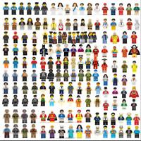 300pcs/lot Random Minifigures SET CITY PEOPLE Building Blocks Figures