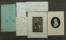 1890s, Ephemera, Stoke On Trent ( Beresford Family) Letters, Pictures, Etc.