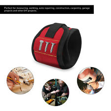 MAGNETIC TOOL WRISTBAND HOLDER CARRY STRAP Pouch/Pocket/Belt/Nails/Screw/Bits
