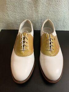 Footjoy Classics K2 Style 90313 Foot Joy Golf Shoes Size 10B