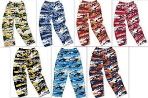 Zubaz NFL Camo Print Pants, Various Teams, Various Sizes C1 1446 to 1452