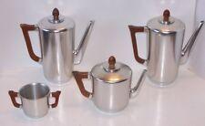 KENSINGTON WARE MAYFAIR COFFEE TEA POT SUGAR ALUMINUM