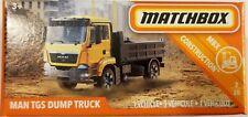 Matchbox 2019 Power Grabs MBX Construction 2/20 Man TGS Dump Truck (BBFHX20)