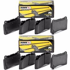 HAWK 2007-2013 CHEVROLET TAHOE PERFORMANCE CERAMIC FRONT AND REAR BRAKE PADS SET