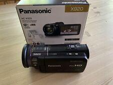 Panasonic HC-X920 - 3MOS, Full HD WiFi-enabled semi-pro Camcorder - Boxed