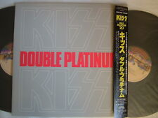 KISS DOUBLE PLATINUM / MINT VINYL CRAZY COLLECTION 20 ISSUE WITH OBI