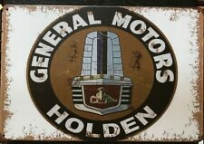 HOLDEN Rustic Look Vintage Tin Metal Sign Man Cave, Shed-Garage & Bar Sign