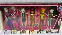 "TARGET EXCLUSIVE 2014 ""We Are Monster High"" 5 Doll Set CBX43 NIB NRFB"