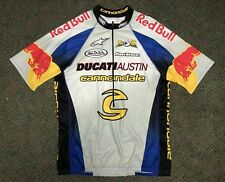 Red Bull Cannondale Ducati Austin Eric Bostrom Cycling Jersey - Size L -  Rare 385604032