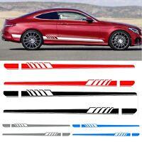 2x Auto Aufkleber Rennstreifen Rally Streifen Zierstreifen Für Mercedes Benz C
