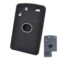 For Mazda 8 M8 CX7 CX9 RX8 Miata MX5 3 Button Silicone Remote Key Case Fob Cover