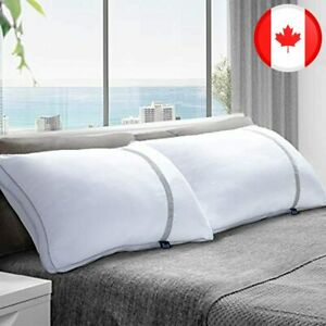 BedStory 2 Pack Sleeping Pillows, King Size Pillow Down Alternative Dust Mite Re