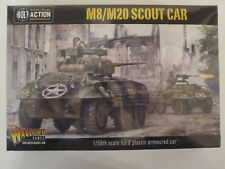 Warlord: (USA) M8/M20 Scout Car  - Bolt Action 28mm, 1/56 scale