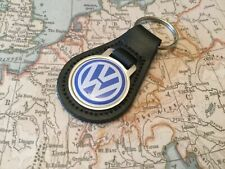 VW Qualit Real Leather Keyring VOLKSWAGEN GOLF GTI UP POLO TOUAREG BEETLE10
