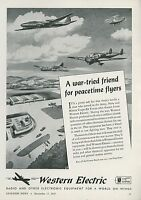 10 1945 Aviation Ads Aircraft Airplanes Planes Flying WWII Great Graphics Lot 8