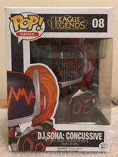 Funko Pop! Dj Sona: Concussive - League of Legends Worlds 2016 Exclusive - New