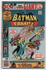 Batman Family #5 VF/NM 9.0 1st appear Bat-Hound rpt 1976 DC giant create-a-lot