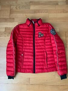 Napapijri Women's Duck Down Puffer Jacket Official Staff Expedition Team Size S