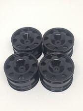 kyosho turbo optima mid Alloy wheels set Atype Black colors