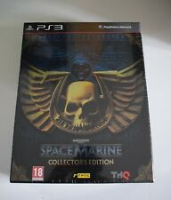 warhammer 40000 space marine collector's edition collector ps3 ps 3 playstation