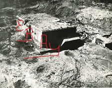 WWII HUGE 8X10 AERIAL PHOTO 8TH USAAF RECON GERMAN BUZZ BOMB PAS DE CALIS BASE