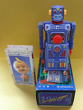 MASUDAYA MINI TARGET ROBOT WIND UP MADE IN JAPAN Unused free shipping with Track