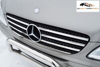 MERCEDES BENZ VITO-VIANO W639 CHROME FRONT GRILL TRIM STAINLESS STEEL 2003-2010