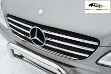 MERCEDES BENZ VITO-VIANO W639 CHROME FRONT GRILL TRIM STAINLESS STEEL 2004-2010
