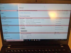 Lenovo ThinkPad T460s i7/20/256 (Used)
