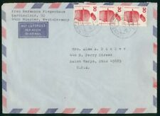 MayfairStamps Germany 1976 Munster to Saint Marys Ohio Air Mail Cover wwo30775