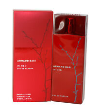 Armand Basi In Red Perfume for Women By Armand Basi Eau De Parfum Spray 3.4 oz