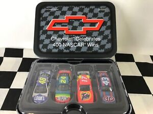 1:64 Chevrolet Celebrates 400 NASCAR Wins 4 car set Petty/Waltrip/Gordon/Johnson
