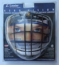 New Vintage rare Zleader Aero Vision Ice Hockey Player cage Junior face mask vtg