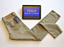 BNWT POLO Ralph Lauren Grey F1 Concept Distressed Jeans Womens Skinny W28 L29
