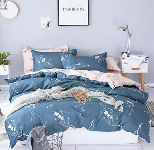 Duvet/Doona/Quilt Cover Set - Queen/King/Super King Size Bed New M395