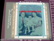 Photo Negative Shirley Temple Husband & Baby