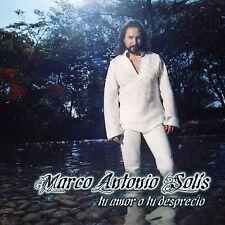 Solis, Marco Antonio : Tu Amor O Tu Desprecio CD