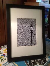 Old London Street Light, England 12.5 x 17.5cm Black & White